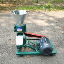 饲料造粒机 大型平模颗粒饲料机 高温灭菌猪饲料颗粒机