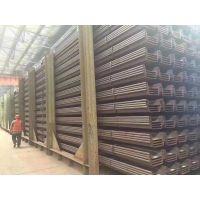 中国山东莱钢紫竹津西钢板桩现货批发销售3号4号6米9米12米15米