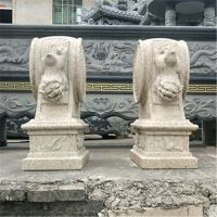 惠安石雕厂家定制青石花岗岩门鼓仿古门墩门鼓门口摆放庭院摆放