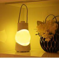 特斯卡八音盒手提灯 可充电池式智能台灯定时卧室床头台灯