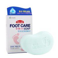 厂家直销韩国小脚丫止痒去脚气皂韩式除臭去角质洗脚香皂批发