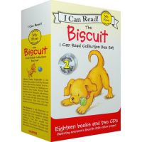 英文原版 I Can Read The Biscuit 小饼干狗系列(18册+2CD)平装