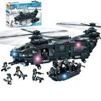 沃马C0550特警系列积木捍卫者铺路鹰儿童男孩拼插装益智玩具批发
