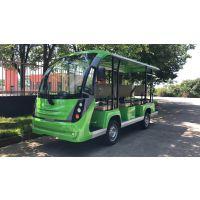 新款电动四轮8座11座14座17座巴士 旅游景区公园观光车