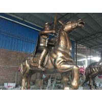 佛山银辉专业定制玻璃钢工艺雕塑马动物雕塑