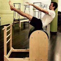 热销普拉提器械普拉提床铁架梯筒木梯筒拉伸训练器械组合健身器材