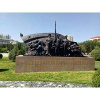兰州铸铜雕塑、甘肃部队雕塑、兰州牛肉面雕塑、甘肃红色题材雕塑
