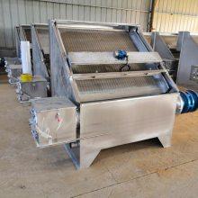 振动式干湿分离机 畜牧养殖业环保设备 斜筛式震动干湿分离机