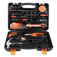 19件家用五金工具套装 礼品工具箱 组合组套工具 厂家直销