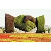 仿真城市雕塑 城市地区标志性绿雕造型 厂家定制