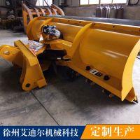 北京道路50铲车配推雪铲价格 路面积雪清理用装载机配除雪板