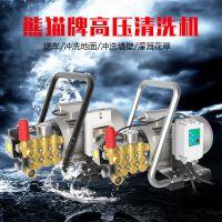 上海熊猫家用全自动停水枪停机高压清洗机小型便携式洗车机PM-1015A
