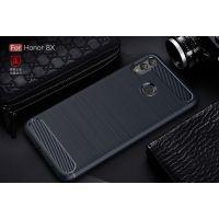 华为荣耀8X手机壳新款 荣耀8C保护套硅胶超薄防摔软胶拉丝外壳MAX