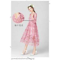 新开品牌折扣女装店找新款设计师羽绒服,高端品质羊剪绒大衣大版型女装批发