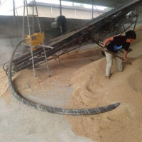 沙子软管式吸粮机品牌好 粮仓装车设备