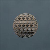 长鸿CHDZHB-定做金属标签 超薄标 UP标贴 电铸标 标牌 金属logo