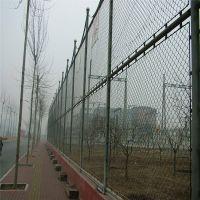 操场围网 足球场围栏 操场围网现场施工
