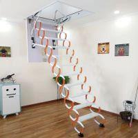 复式装修选择阁楼伸缩楼梯 伸缩楼梯规格