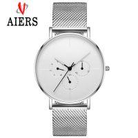DW同款男士 简约时尚不锈钢防水石英艾尔时手表工厂 白令同款