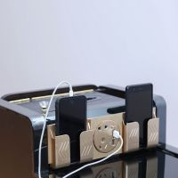 足浴茶几喜运来多功能不锈钢带USB充电接口带抽纸一体盒足疗茶几