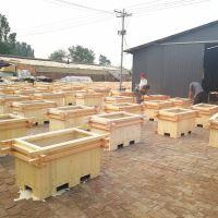 河北防腐木花箱、河北木质花箱厂家
