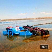 贵州割草船的特点 水上水葫芦打捞船的规格大小 舟水水面工程船的使用方法
