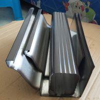 南京铝合金成品排水槽古铜色方形落水管外墙专用