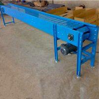 大倾角链板输送机加厚 板链输送机配件