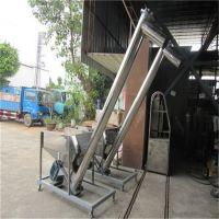石膏粉不锈钢蛟龙提升机 六九矿粉耐高温筒式喂料机