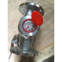 防腐耐酸不锈钢304螺纹水表 316法兰水表 四氟机芯水表 干式水表