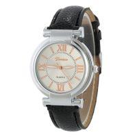 速卖通Wish热销女士休闲手表 日内瓦GENEVA品牌皮带时尚时装腕表