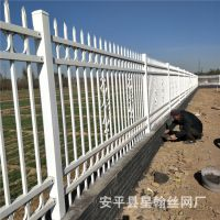 厂家直销学校围墙安全护栏 学校防攀爬锌钢护栏 学校铁艺护栏网