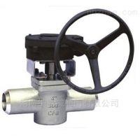 郑州X361F美标焊接卡套旋塞阀厂家,纳斯威美标承插焊式卡套旋塞阀价格