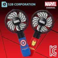 韩国正品MARVEL USB少风扇 手持风扇 卡通电风扇 迷你少风扇