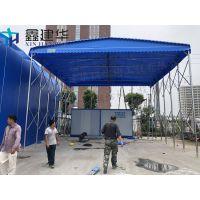绍兴县专业定做户外临时伸缩雨蓬_带轮活动雨棚布_推拉雨篷质量保障