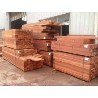 巴劳木厂家加工厂实木板圆木柱立柱价格