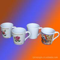 优质工厂直供密胺马克杯 美耐皿仿瓷杯子 广告礼品杯