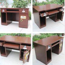 黄石 襄樊投币收银桌电脑一体桌桌家用财务桌 60投币保险柜 送货上门