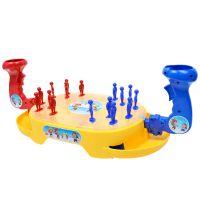 抖音玩具 益智弹射弹珠 亲子互动雪人对战双人比赛游戏 儿童玩具