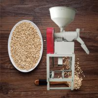 普航大型麦子碾米机 多型号大米磨米机 电动谷子碾米机