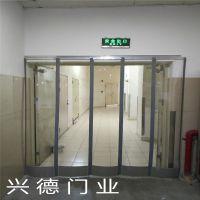 深圳XDM桔黄色透明软门帘 防虫软帘 透明门