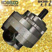 神钢200-3尾泵 KOBELCO/江西神钢挖机配件SK200-3液压先导齿轮泵