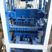 热销空心砌块砖机大型植草护坡砖机 全自动液压10-15免烧制砖机