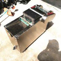 山东多功能切菜机大型自动切菜机视频不锈钢自动切菜机使用视频