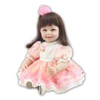 漂亮可爱仿真过家家公仔 长发女孩梳妆换装娃娃 儿童节高档礼物