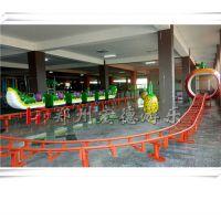 新款热销轨道类游乐设备青虫滑车QCHC-16P刺激好玩游艺机郑州宏德游乐定制