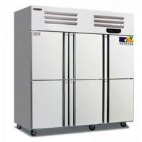 美厨六门双温冰箱BRF6六门制冷冷柜 商用六门冷藏冷冻冰箱