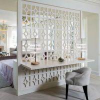 客厅欧式镂空雕花铝合金屏风隔断