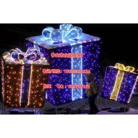 高1米宽1米LED礼物盒 发光礼物盒 led礼盒 新款促销