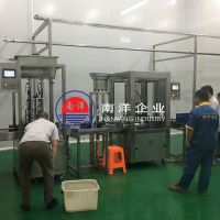 口服液果汁饮料加工生产线 全自动配料搅拌桶自动灌装机封口机整套设备